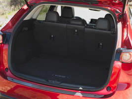 With all seats upright, the 2017 CX-5 has 30.9 cubic feet of cargo space and with the second row...