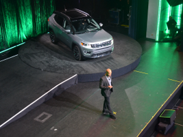 Ralph Gilles, head of global design, talks about the new 2017 Jeep Compass.