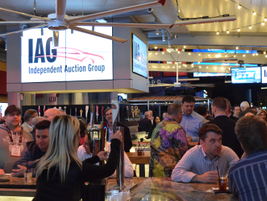 ServNet and IAG also hosted an evening event on March 1 at the Beer Park at Paris Las Vegas...