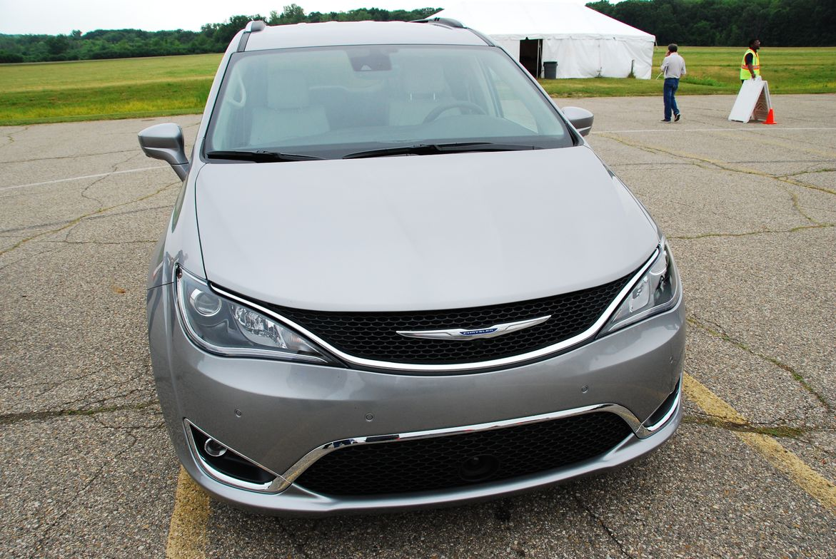 The all-new Chrysler Pacifica was among the most popular models to test drive.
