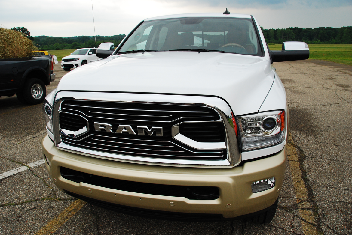 A Ram 2500 equipped with a Cummins turbo diesel