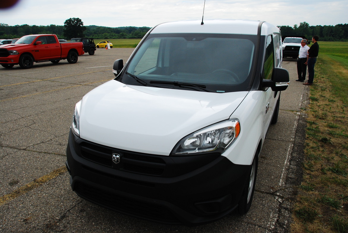 A Ram ProMaster City ready for a test drive.