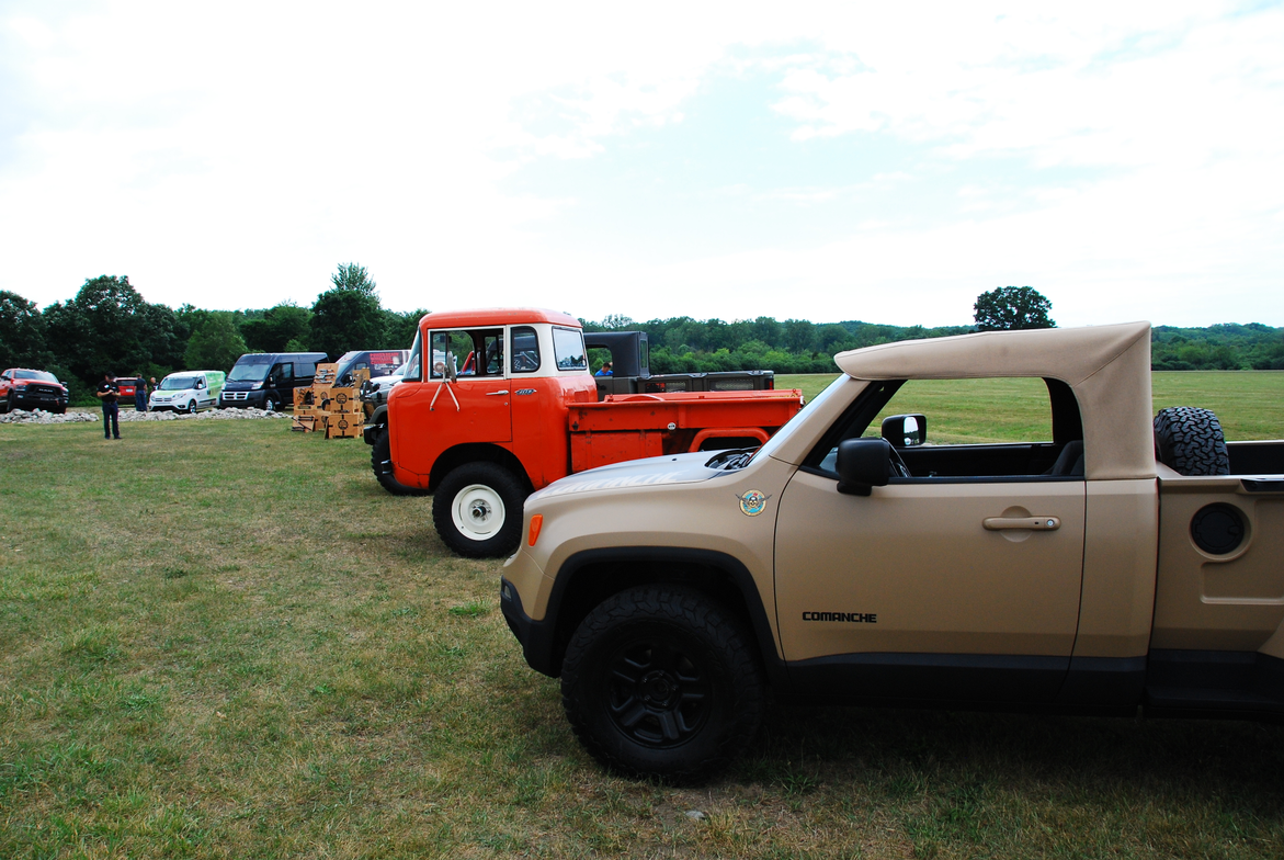 As they do every year, upfitters had fun showing off their creativity by outfitting various...