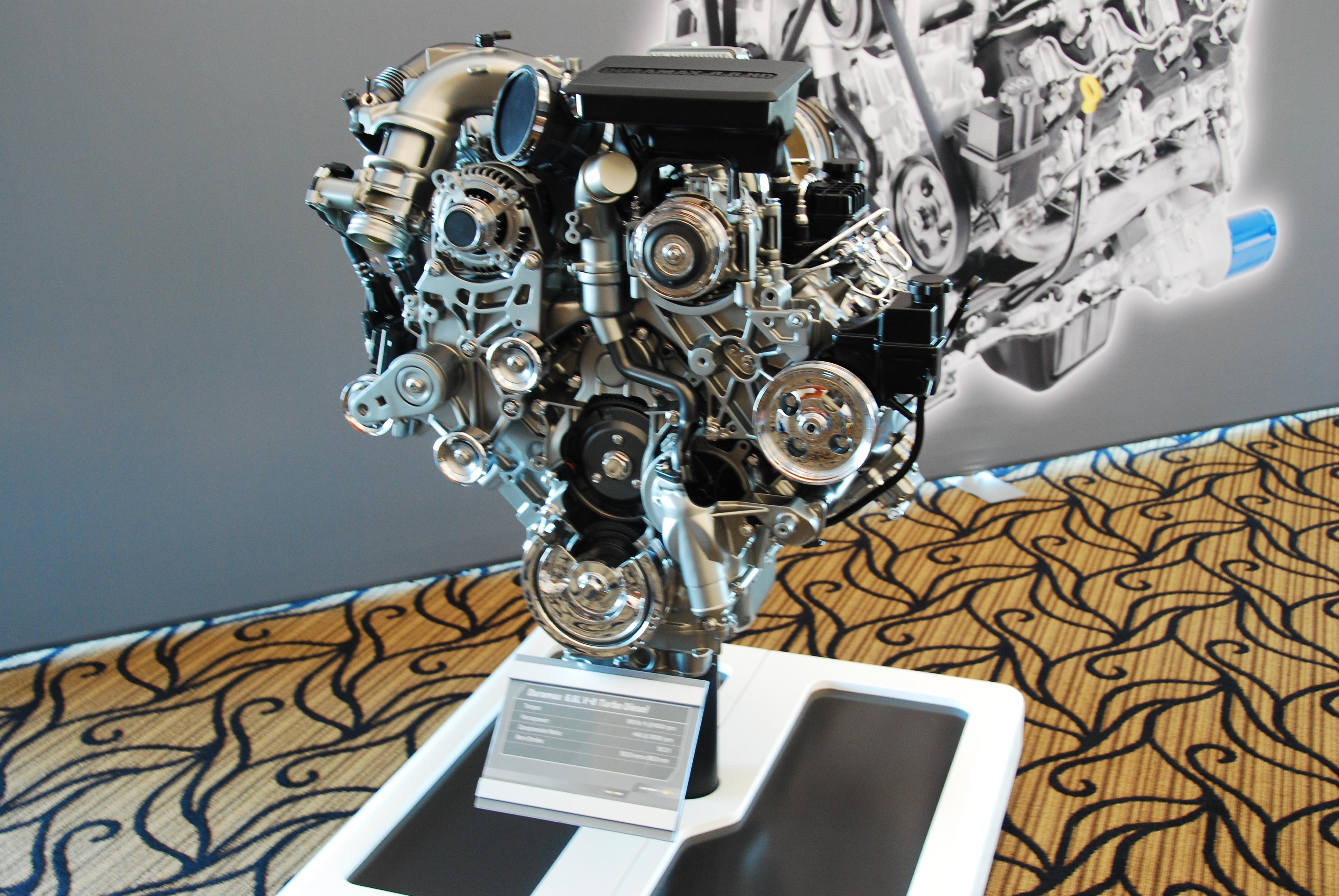 Chevrolet Silverado HD's 6.6L Duramax Diesel