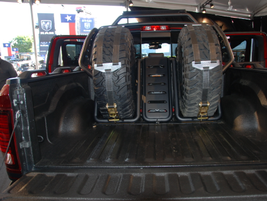 What makes the Rebel TRX different from its Ram 1500/Rebel siblings is the bypass shocks, 13...