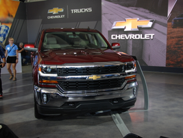 Chevrolet gave journalists had the Silverado on display, and announced the launch of its...