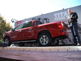 Nissan unveiled its Texas edition of the Titan.