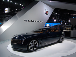 The Cadillac Elmiraj Concept is a modern update to the classic format of a two-door grand coupe.