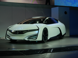 The Honda FCEV Concept, which will launch in the U.S. and Japan in 2015, boasts a range of 300...