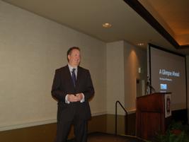 Bruce MacLaren, senior procurement business partner for Microsoft, delivered the opening keynote...