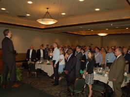 As part of his speech, Bruce MacLaren, senior procurement business partner for...