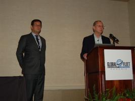 Denis Ferault (left) and Robert Sandler of PHH Arval Global Alliance dug deep into the metrics...