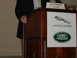 Donlen President & CEO Tom Callahan presented a humorous look at his time as an expatriate...
