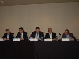 Andre Dutkowski of Daimler AG, Steve Higgs of General Motors, George Irving of Toyota, Jeff...