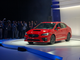Subaru's 2015 WRX is powered by a new 268-horsepower 2.0-liter direct-injection turbo BOXER engine.