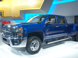 The Chevrolet Heavy-Duty truck rounds out the company's three-truck strategy, giving fleet...