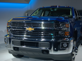 The Chevrolet Heavy-Duty is part of the automaker's three truck strategy.