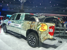 The Toyota Tundra upfit showed off the power of branding.