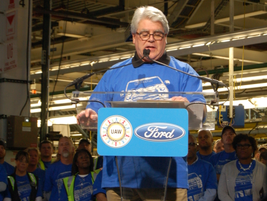 First 2015 F-150 at Ford's Rouge Plant