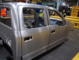 One of the advantages of aluminum is that if it is exposed to the elements it won't rust.