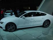 Audi's hydrogen fuel-cell A7 Sportback h-tron