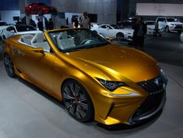 Lexus' LF-C2 concept convertible