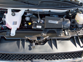 The Vortec 4.8-liter V-8 remains the only V-8 available in a full-size van.