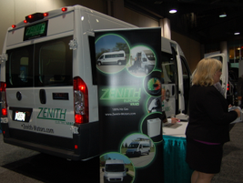 Zenith Motors electric van.