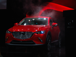 The 2016 Mazda CX-3 compact SUV has a 1.5- or 2.0-liter engine.