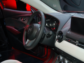 Interior of the 2016 Mazda CX-3