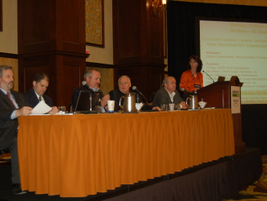 Colleen Crowninshield from the Pima Association of Governments moderated a panel where fleet...