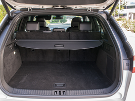 The MKX offers 37.2 cubic feet of cargo storage and 68.8 cubic feet including the seating area.