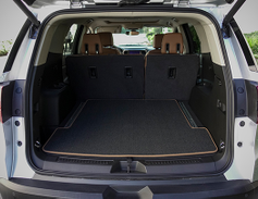 With no third row, the Acadia offers 79 cubic feet of cargo room.