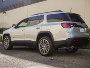The Acadia has a 112.5-inch wheelbase and is 193.6 inches in length.