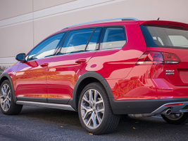 The Golf Alltrack offers an EPA-rated 25 mpg in the city and 30 mpg on the highway.