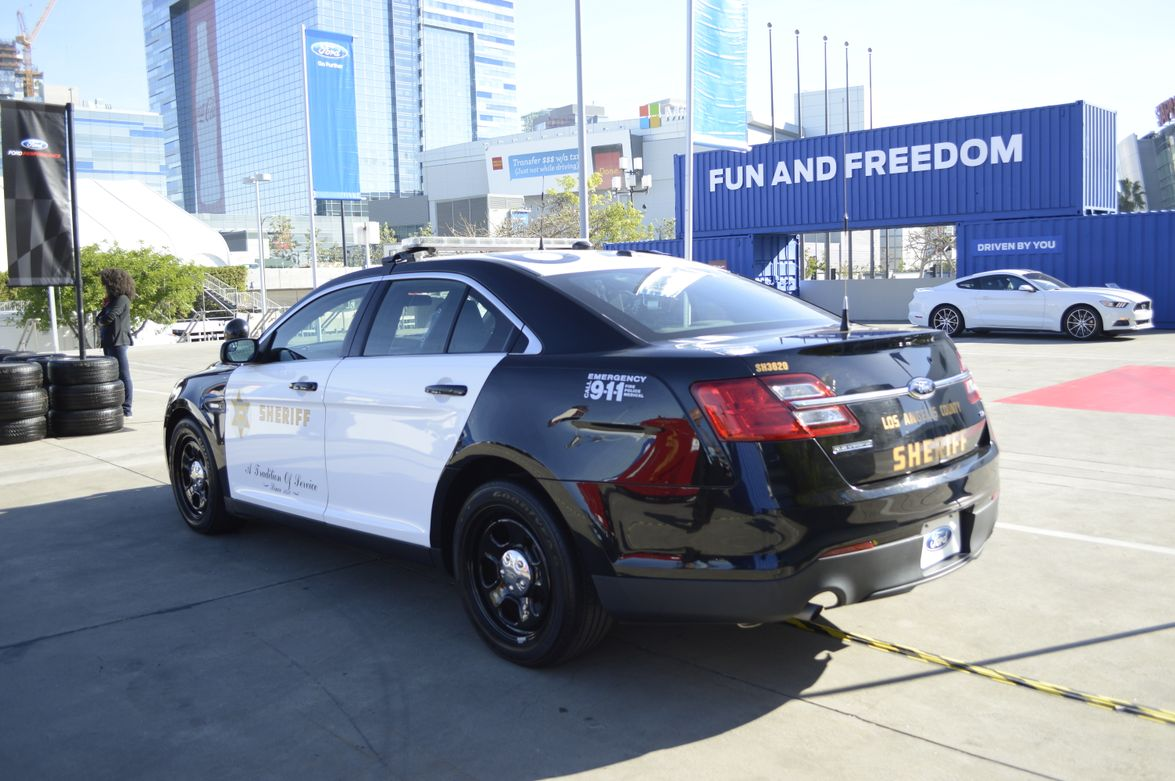 Ford Police Interceptor used by the Los Angeles County Sheriff's Office