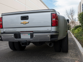 The Silverado 3500HD uses a 6-speed Allison transmission.