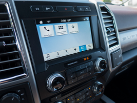 SYNC 3 served to an 8-inch touch screen offers infotainment, Bluetooth pairing, and...