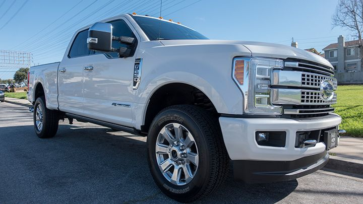 The 2017 F-250 crew cab is rated at 10,000 pounds GVWR.