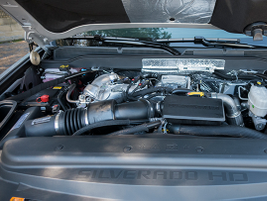 A new 6.6L V-8 Duramax turbo-dieseladds more power (52 hp) over the outgoing model.