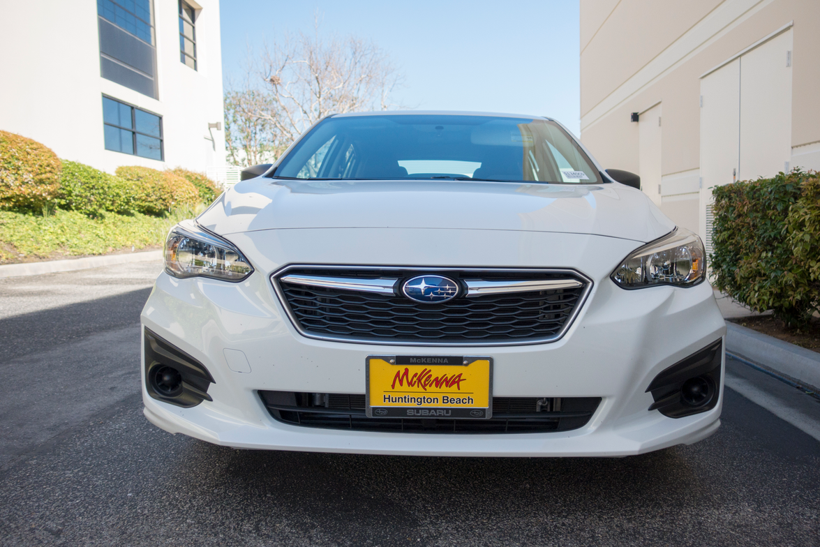 The Impreza eschews sportiness for practicality.