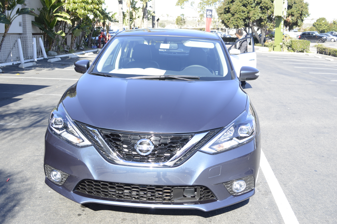 The 2016 Nissan Sentra Features A Redesigned Hood Front Fascia And V Motion