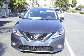 Driving the 2016 Nissan Sentra