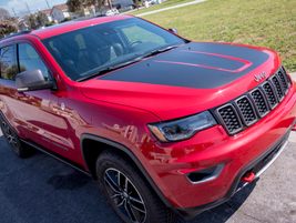 The Grand Cherokee Trailhawk includes the standard Quadra-Drive II four-wheel-drive system with...
