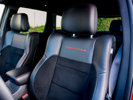 Heated front and rear seats provide plenty of comfort.