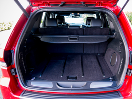 The cargo area offers 68.3 cubic feet with the seats folded down.