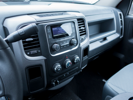 A Uconnect 3.0 infotainment system is optional.
