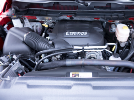 The gasoline 6.4L V-8 powers this 2017 2500.