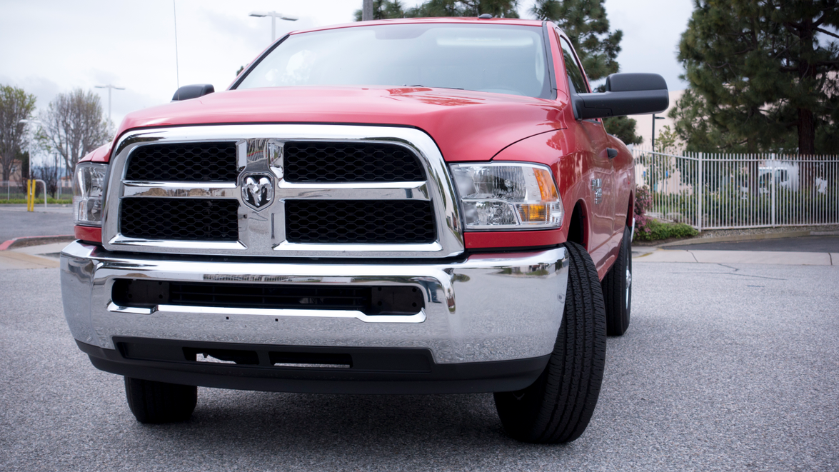 The three-quarter-ton Ram 2500 is available in eight trim grades