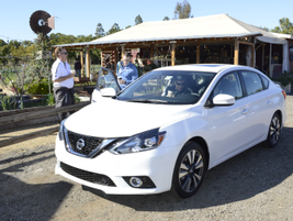The 2016 Sentra providesreducedengine noise due to retuned engine mounting and laminated glass...